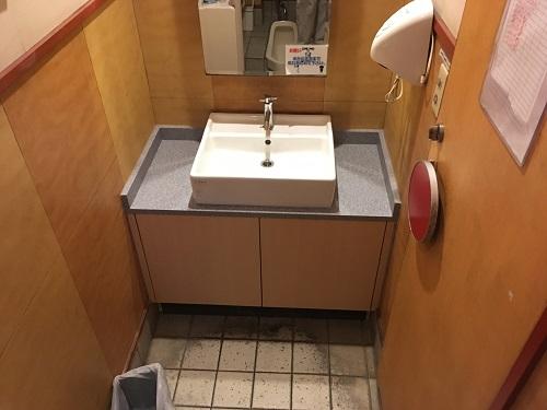大阪市内店舗 洗面台改修工事