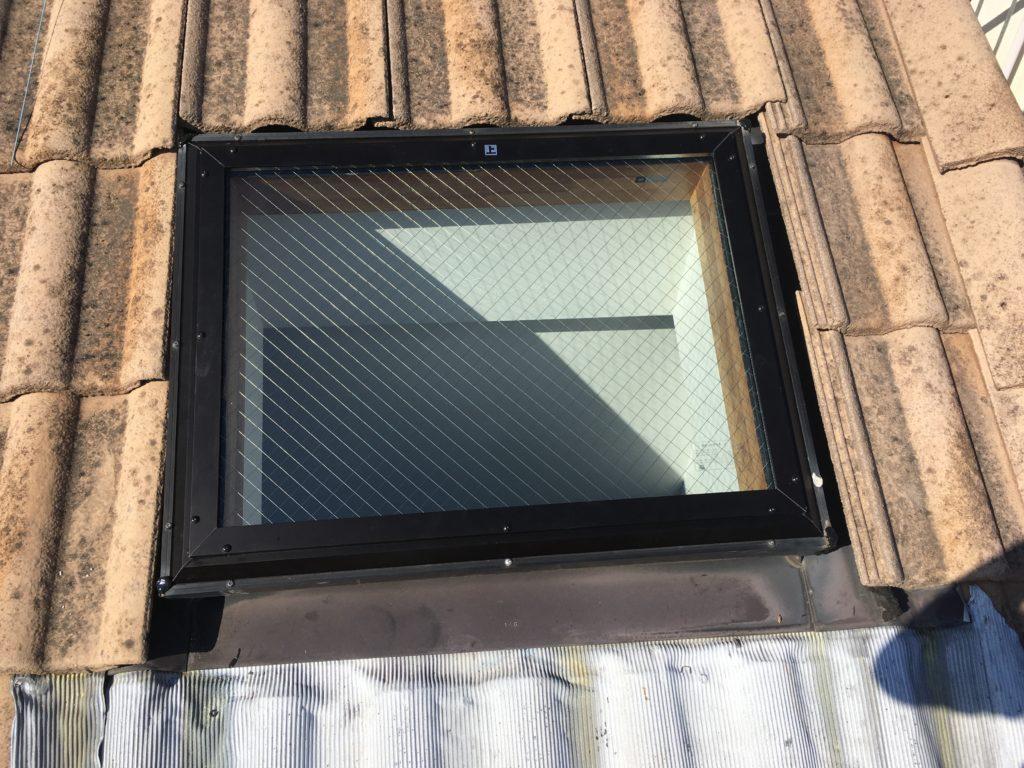 天窓 ガラス交換