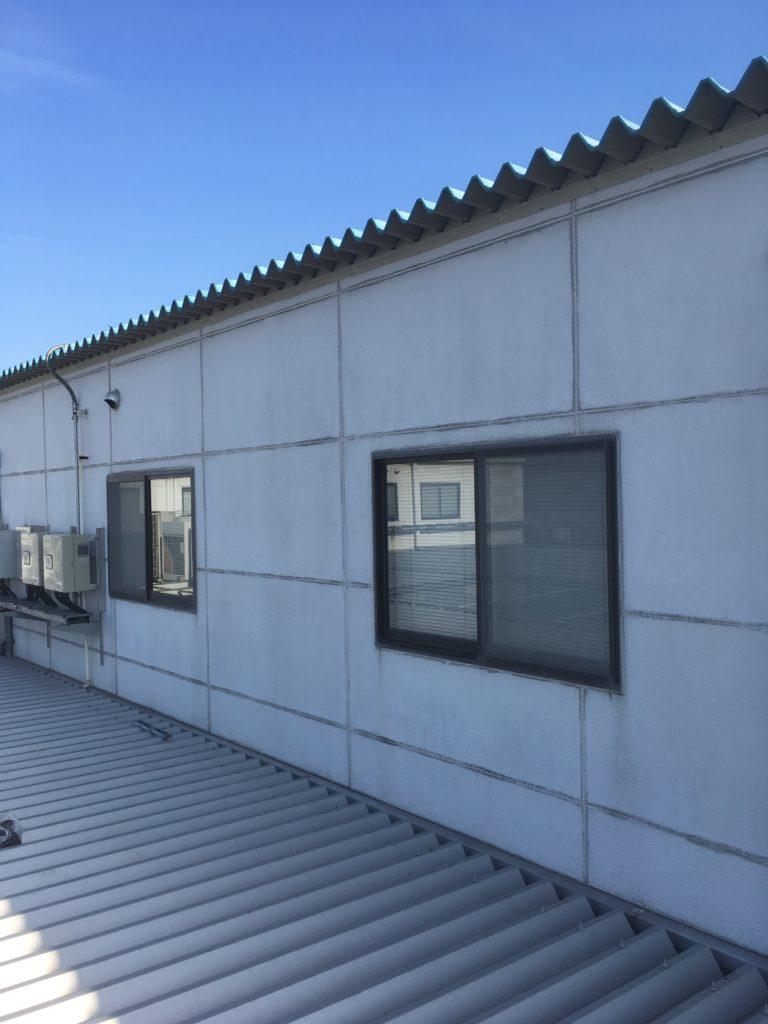 守口市 工場屋上タラップはしご製作取付