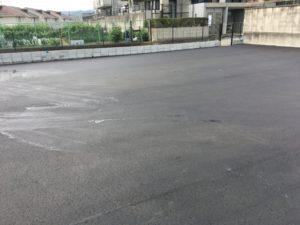 寝屋川市 アスファルト舗装 駐車場工事