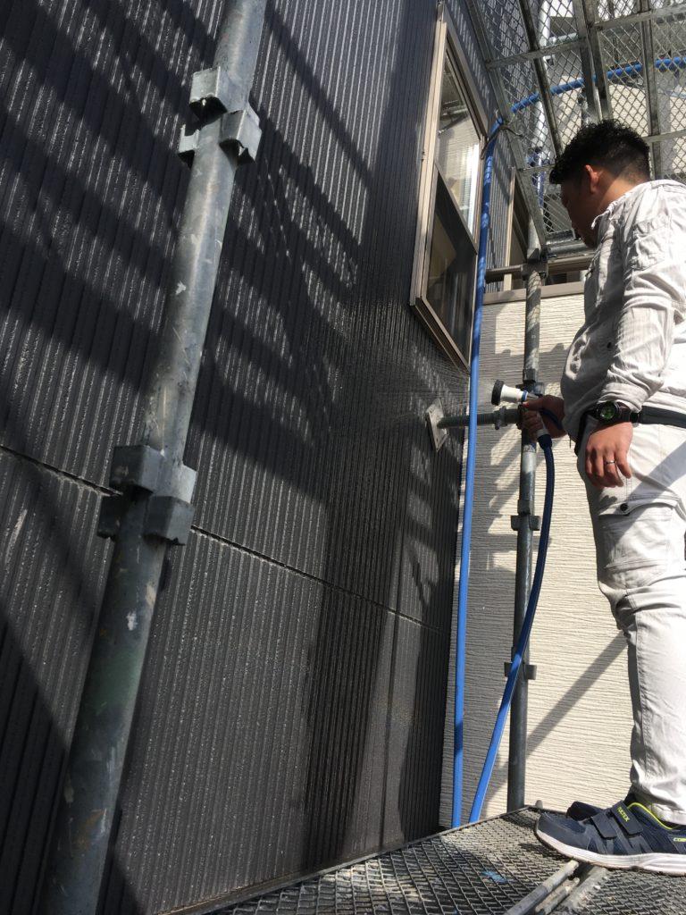 生駒市 雨漏り調査 外壁修理工事